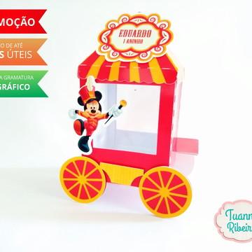 Carrinho de pipoca - Circo do Mickey