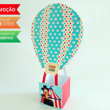 Caixa Balão Circo do Mickey