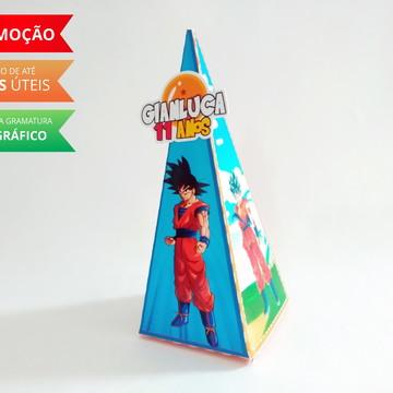 Caixa pirâmide Dragon Ball Z