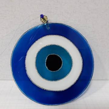 Mandala Vitral Pequena Olho-Grego