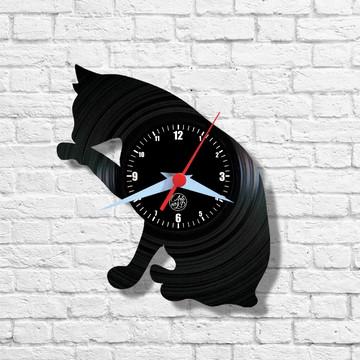 Gato - Relógio de Parede