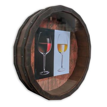 Quadro Decorativo Porta Rolhas Redondo Bar Restaurante M-14