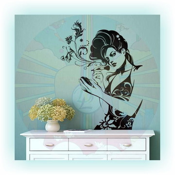 Adesivo Decorativo para salão de beleza