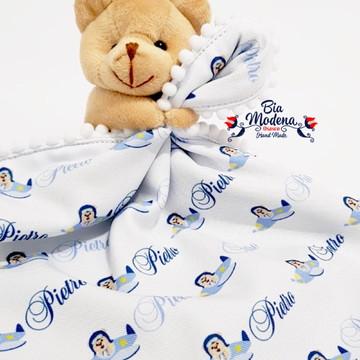 Naninha tema Urso aviador