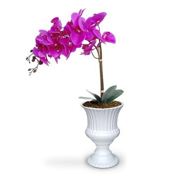 Flores artificiais orquideas similar naturais
