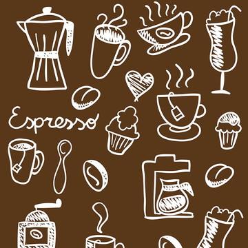 Papel de Parede Café Espresso coffee