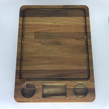 Prancha de Corte Retangular- madeira Teca