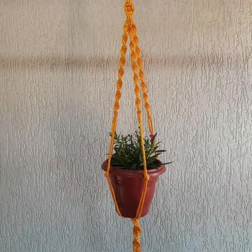 Hanger Macramé / Suporte para plantas.