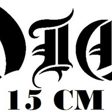 Adesivo Banda Dio Heavy Metal Frete Grátis