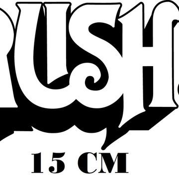 Adesivo Banda Rush Heavy Metal Frete Grátis