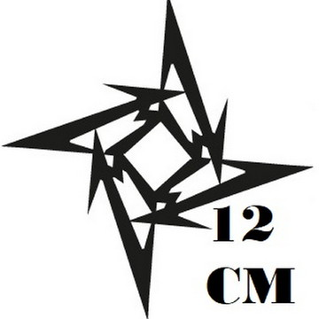 Adesivo Logo Metalica Heavy Metal Frete Grátis
