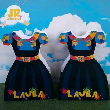 Caixa Vestido Chiquititas