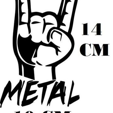 Adesivo Decalque Maloik Heavy Metal Frete Grátis