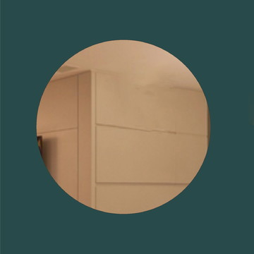 Espelho Acrílico 50x50cm Redondo ou Quadrado