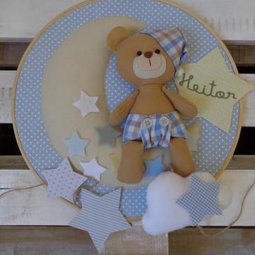 Enfeite Maternidade Menino Urso