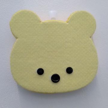 Silhueta 3D Urso Minimalista