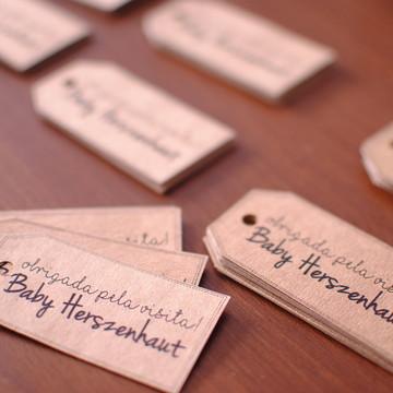 Tags: Etiquetas Batismo