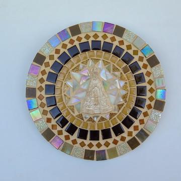 Mandala mosaico Nossa Senhora 20