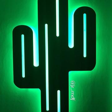 FRETE GRÁTIS - Cacto Luminoso Decorativo de Parede