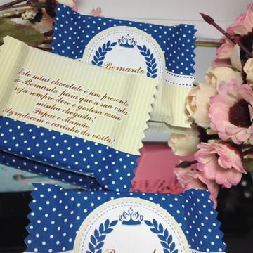 Lembrança nascimento chocolate Brasão Príncipe PROMOÇÃO
