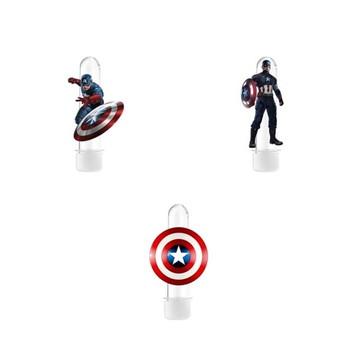 Tubete 3D Capitão America
