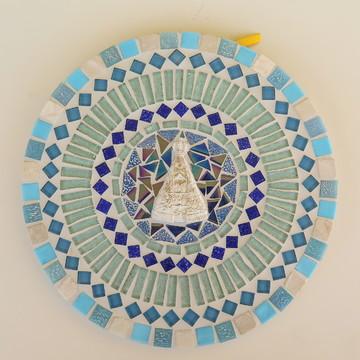 Mandala mosaico Nossa Senhora Aparecida 25