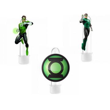 Tubete 3D Lanterna Verde