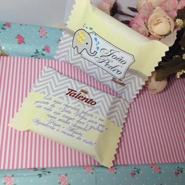 50 Lembranças chocolate talento Elefante