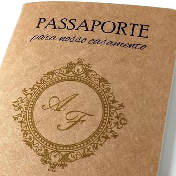 Convites Casamento Criativos Passaporte | Frete Grátis