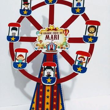 Centro de mesa Roda gigante Circo