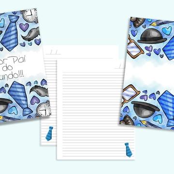 Caderno Personalizado Dia dos Pais
