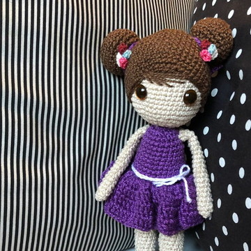 Joana ·Boneca de amigurumi