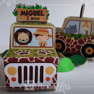 Caixa Jipe Safari