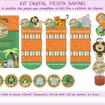 Kit Digital Festa Safari