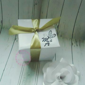 Convite caixinha de Casamento