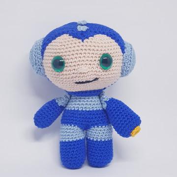 Amigurumi: Boneco de crochê Megaman