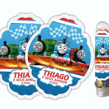 Adesivo para Tubete Thomas e seus amigos
