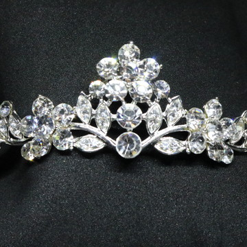 Coroa tiara arranjo noiva debutante