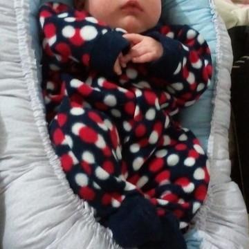 Com Travesseiro Brinde Ninho de bebê RN a 8 meses - 85x50cm