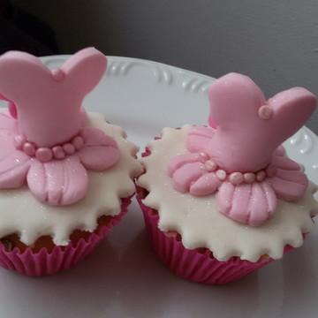 kit festa Bailarina (bolo de mesa e doces de mesa)