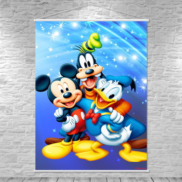 Banner Turma do Mickey 75x100cm