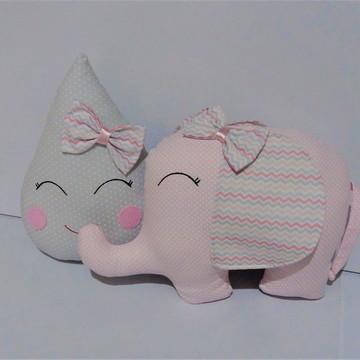 Almofadas Gota e Elefantinha