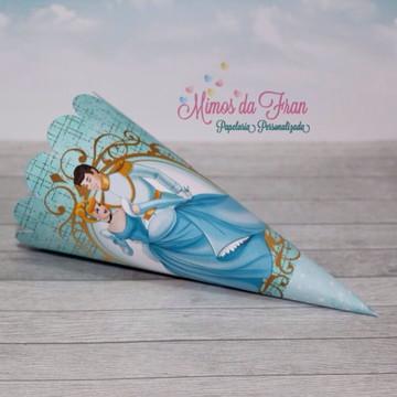 Cone para Pipoca Cinderela