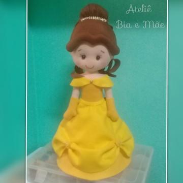 Princesa Bela em feltro
