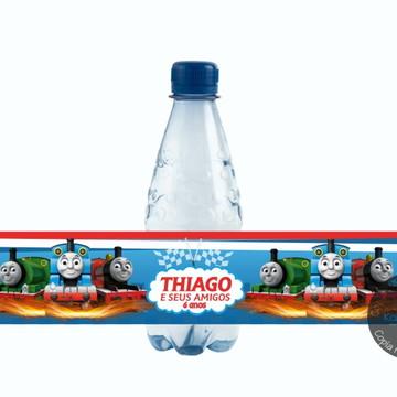Rótulo para água Thomas e seus amigos