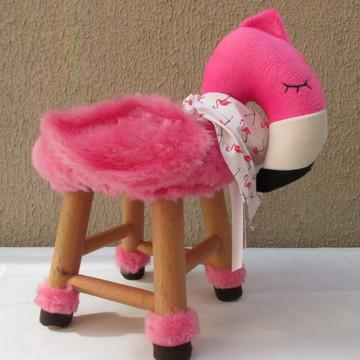 Banquinho Flamingo