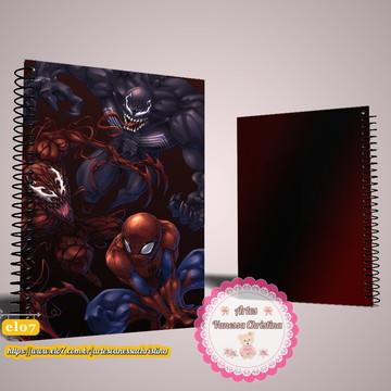 Caderno Personalizado Homem Aranha