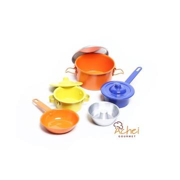Kit de Panelinhas Infantil de Aluminio Coloridas