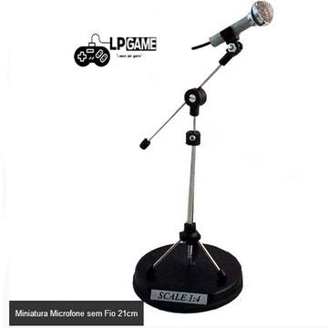 Miniatura Microfone sem fio+BRINDE+Personalização