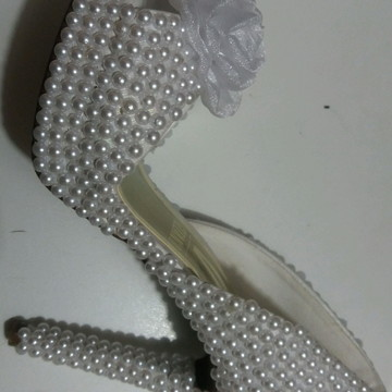 34c5999569 Sapato customizados para noiva